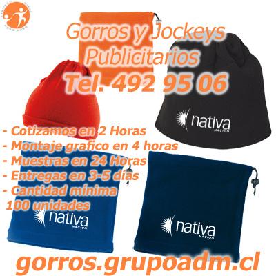 Gorros Publicitarios Jockeys Corporativos
