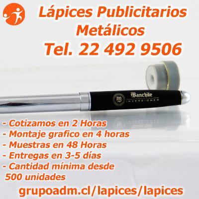 Bolígrafos Publicitarios Chile