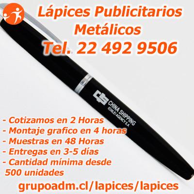 Boligrafos Publicitarios metalicos