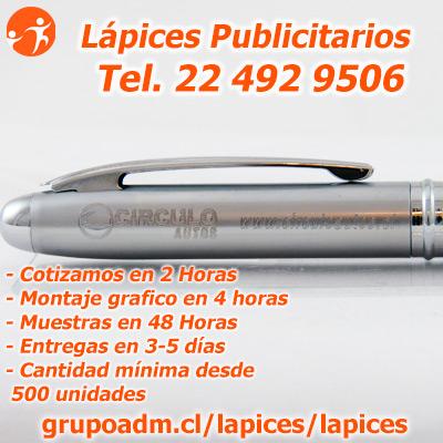 Boligrafos Publicitarios Chile