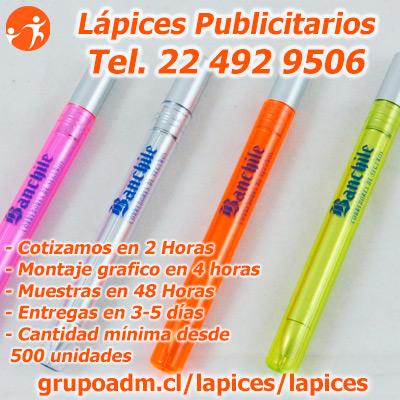 Bolígrafos Publicitarios Plásticos