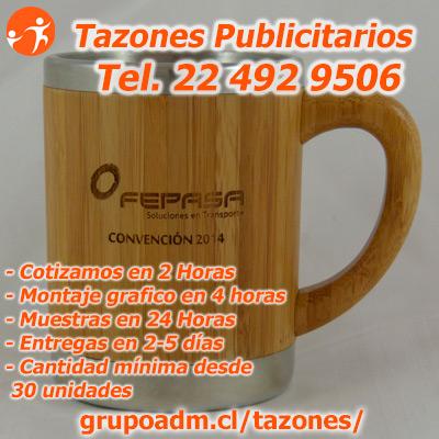 Mugs Metalicos Publicitarios en Antofagasta