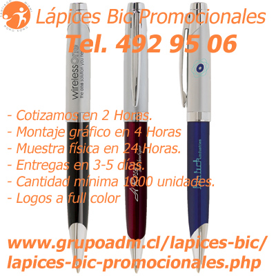 Bolígrafos Bic Chile