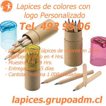 Lápices de Colores Personalizados Originales