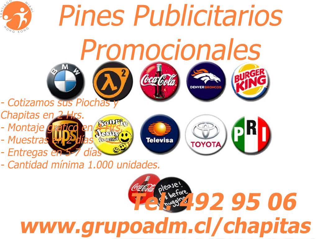 Chapitas Promocionales Articulos Publicitarios