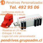 Pendrives Personalizados www.grupoadm.cl Tel. 492 95 06