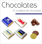 Chocolates con logo Corporativo