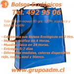 Bolsos Ecológicos Publicitarios www.grupoadm.cl Tel. 492 95 06