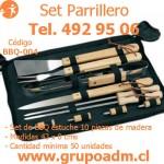 Set Parrillero BBQ-004 www.grupoadm.cl Tel. 492 95 06