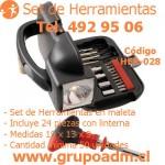 Set de Herramientas Her-028 www.grupoadm.cl Tel. 492 95 06
